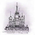 Cathedral Of Saint Basil, Moscow, Russia Royalty Free Stock Photo - 54240815
