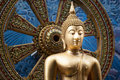 Thailand Golden Buddha Statue On A Asia Style Background Royalty Free Stock Photo - 54264415