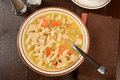 Chicken Noodle Soup Royalty Free Stock Images - 54282169