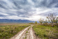 Road To The Mountains Stock Photography - 54285222