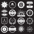 Vector Set:vintage Fathers Day Labels And Icons Royalty Free Stock Image - 54295476
