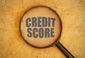 Credit Score Royalty Free Stock Photography - 54301397