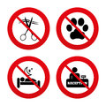 Hotel Services Icon. Pets Allowed, Hairdresser Royalty Free Stock Photos - 54318278