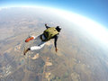 Skydiver In Action Royalty Free Stock Image - 54349066