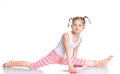 Girl Practice Yoga Stock Photos - 54371583