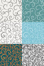 Backgrounds With Swirls Royalty Free Stock Photos - 54374808