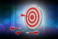 Dart Target Arrows, Success Business Concept Stock Photography - 54386212