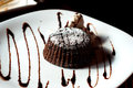 Fondant Cake On A Plate Royalty Free Stock Image - 54387306