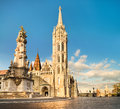 Matthias Church In Buda Castle District, Budapest, Hungary Stock Images - 54390534