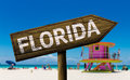Florida Sign On The Beach Stock Photo - 54394310