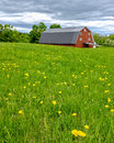 Red Barn On A Farm Royalty Free Stock Photography - 54397107