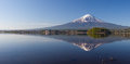 Panorama View Of Mountain Fuji Stock Image - 54422301