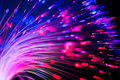 Optical Fibres Abstract Blurred Technology Background Stock Image - 54423701