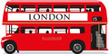 London Bus Royalty Free Stock Photo - 54431125