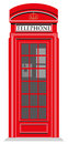 Red Telephone Box Stock Images - 54433474