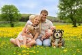 Happy Family Relaxing In Country Royalty Free Stock Photo - 54439095