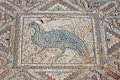 Fragment Of Ancient Religious Mosaic In Kourion, Cyprus Stock Photo - 54453510