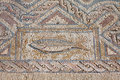 Fragment Of Ancient Religious Mosaic In Kourion, Cyprus Stock Photos - 54453513