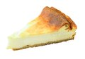 New York Cheese Cake On White Background Stock Images - 54465024