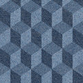 Abstract Paneling Pattern - Seamless Pattern - Blue Jeans Textur Royalty Free Stock Photography - 54483397