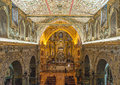 Interior Of The Church Of San Francisco, Quito Royalty Free Stock Photography - 54484307