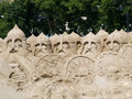 Sand Sculpture   Royalty Free Stock Photography - 5453407
