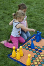 Child Playing With A Board Stock Photography - 5456552