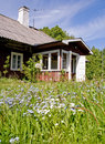 Summer Cottage Stock Photography - 5458292