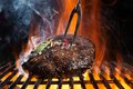 Beef Steak On Grill Royalty Free Stock Images - 54520849