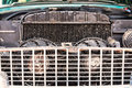 Close-up Of Old Radiator Of Retro Vintage Car Stock Photography - 54537712