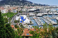 Aerial View Of The Old Harbor And The Marina Of Cannes, France Stock Photo - 54548420