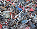 Rusty Tools Pile Royalty Free Stock Image - 54561916