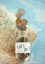 Let S Travel - Vacation Budget Stock Images - 54562974