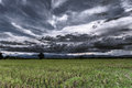 Storm Clouds Before Rainy Stock Photo - 54576300