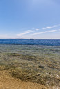 Panorama Of The Beach At Reef, Sharm El Sheikh Stock Photo - 54585120