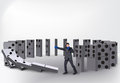 Domino Effect Royalty Free Stock Photography - 54588137