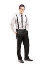 Handsome Young Man Posing In Stylish Clothing Royalty Free Stock Photos - 54594718