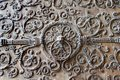 Detail Of Gate From Notre-Dame In Paris Stock Photo - 5464270