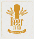 Beer On Tap Royalty Free Stock Photos - 54610718
