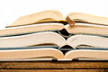 Open Books Stock Photography - 54629542