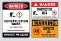 Site Safety Sign Or Construction Safety Stock Photos - 54653833