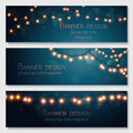 Vector Banners Set. Royalty Free Stock Photography - 54655447