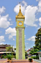 Clock Tower In Mandalay Royalty Free Stock Photo - 54655855