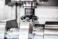 Metalworking CNC Milling Machine. Royalty Free Stock Photography - 54669397