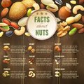 Nuts On Wooden Background Royalty Free Stock Images - 54670039