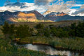 Sunrise In Patagonian Andes Stock Photography - 54673532