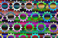 Psychedelic Gears  3 Stock Photography - 5478872