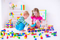 Kids Playing At Day Care Royalty Free Stock Photography - 54731557