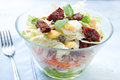 Seven-layer Salad With Egg, Tuna, Dried Tomatoes Royalty Free Stock Photos - 54745888