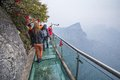Glass Sky Walk Stock Images - 54747214